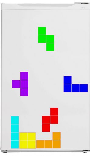 Tetris Style Fridge Blocks